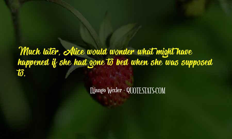 Django Wexler Quotes #731896