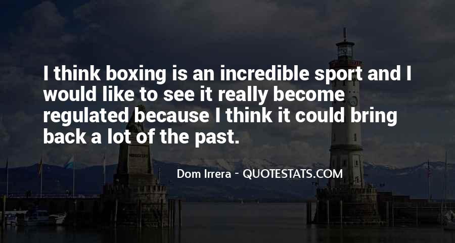 Dom Irrera Quotes #1822381