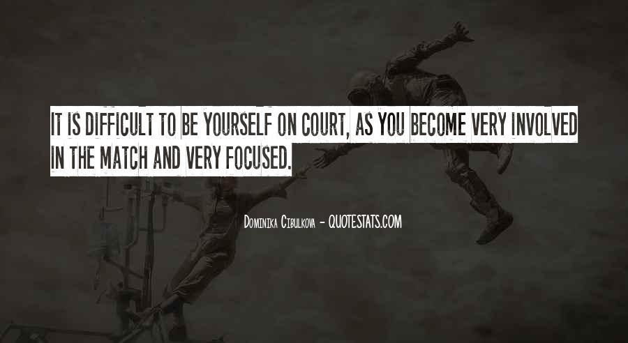 Dominika Cibulkova Quotes #134423