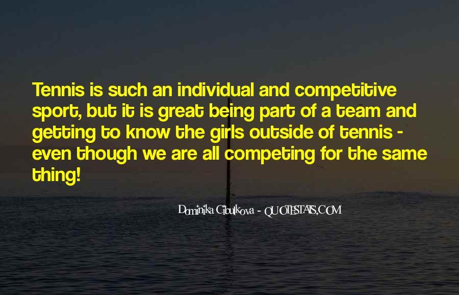 Dominika Cibulkova Quotes #172700