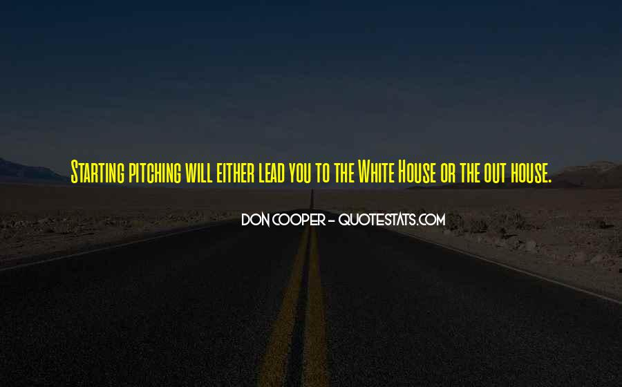 Don Cooper Quotes #485607