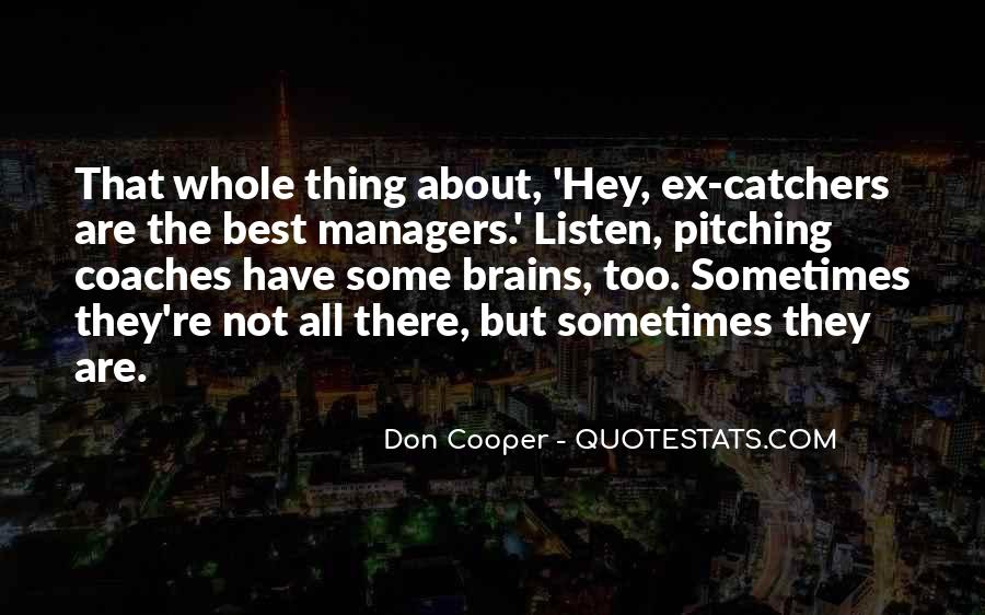 Don Cooper Quotes #775568