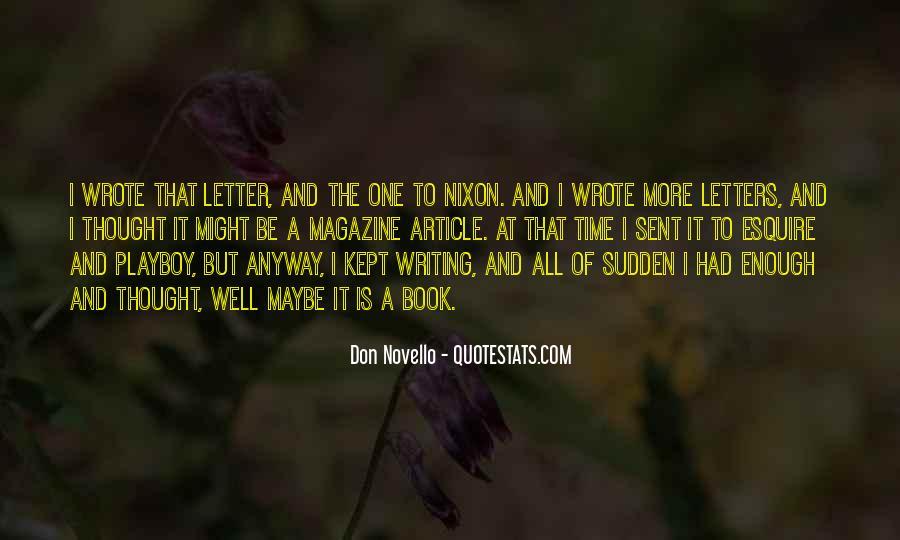 Don Novello Quotes #1870476