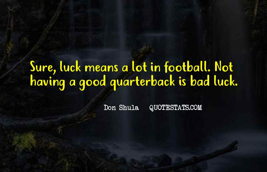 Don Shula Quotes #1001653