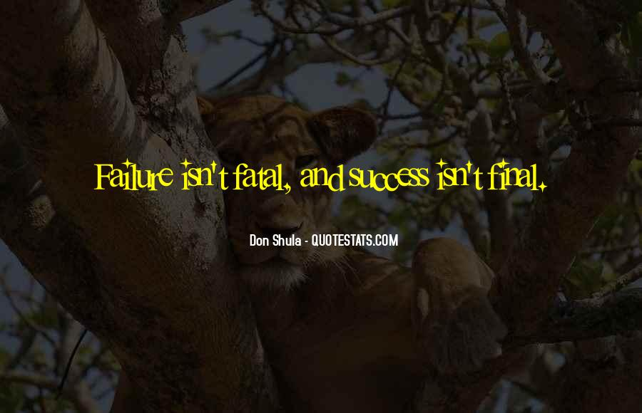 Don Shula Quotes #1080705