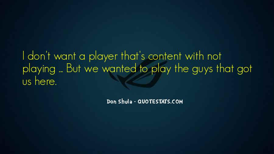 Don Shula Quotes #1181185