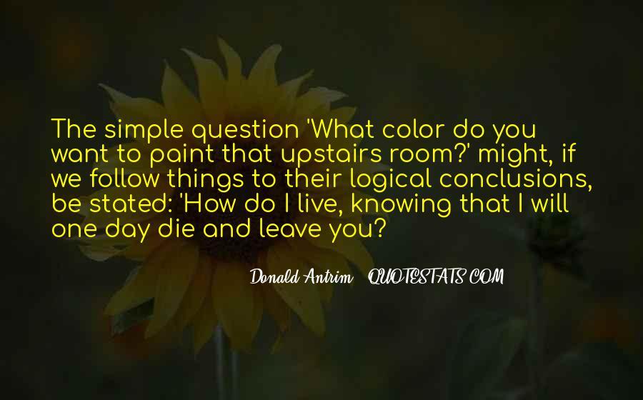 Donald Antrim Quotes #1026885