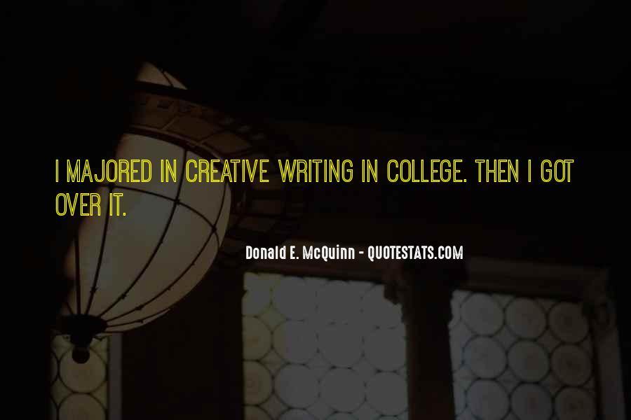 Donald E. McQuinn Quotes #1406663