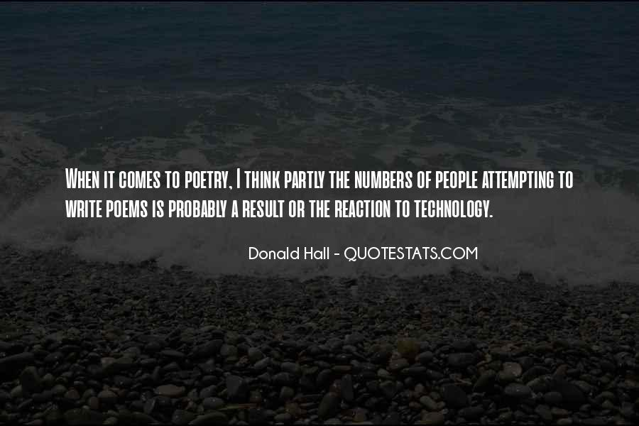 Donald Hall Quotes #1102051