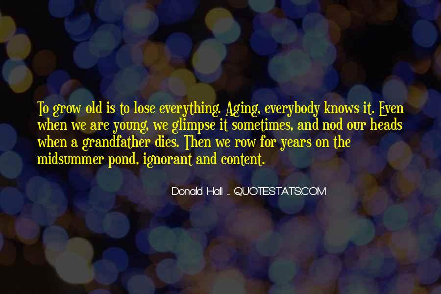 Donald Hall Quotes #1119076