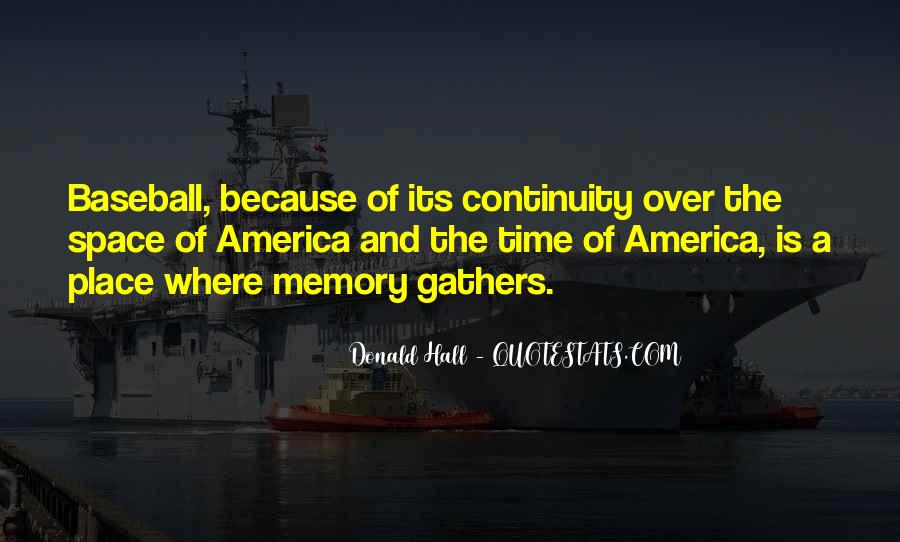 Donald Hall Quotes #1144812