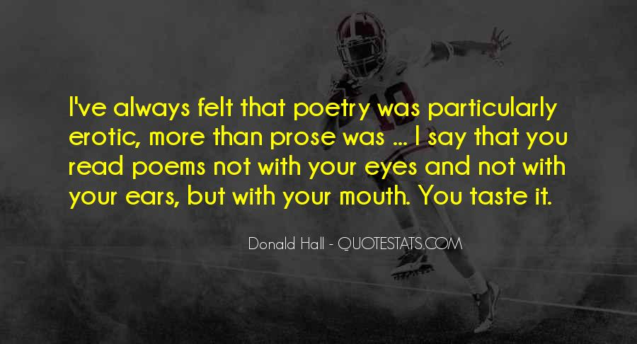 Donald Hall Quotes #1154864