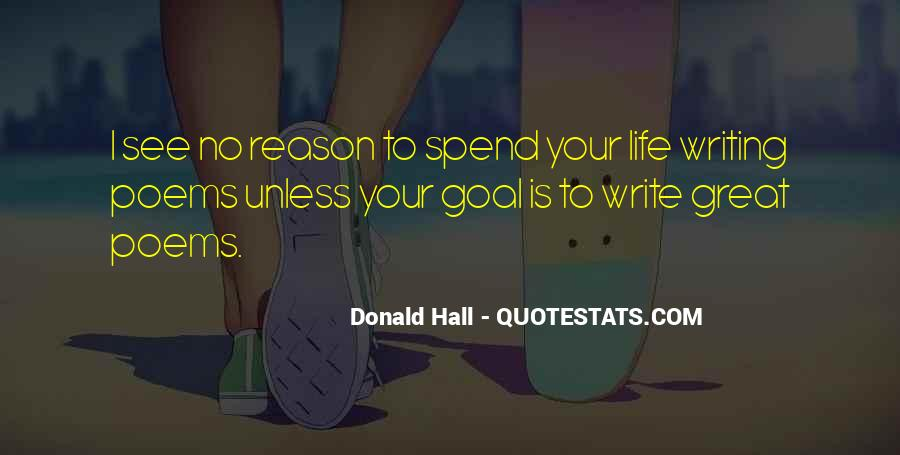 Donald Hall Quotes #147214