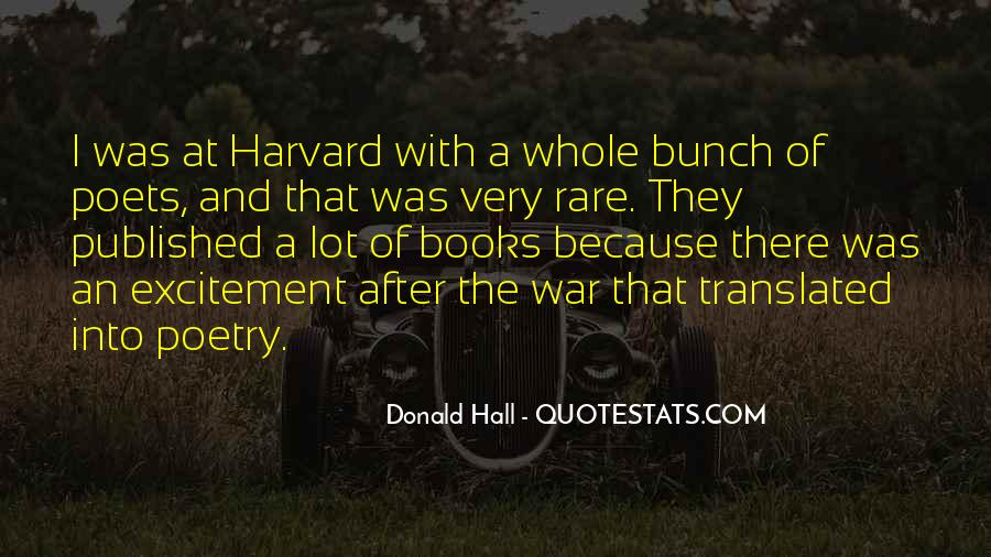 Donald Hall Quotes #1547552