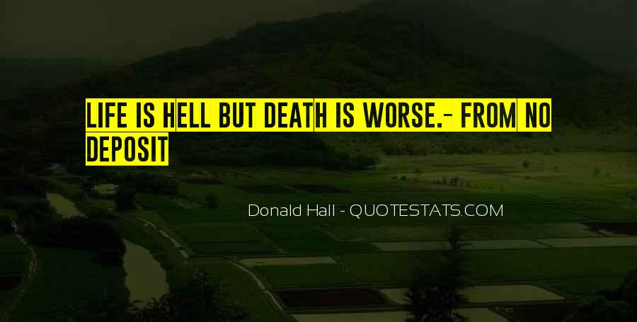 Donald Hall Quotes #1651144