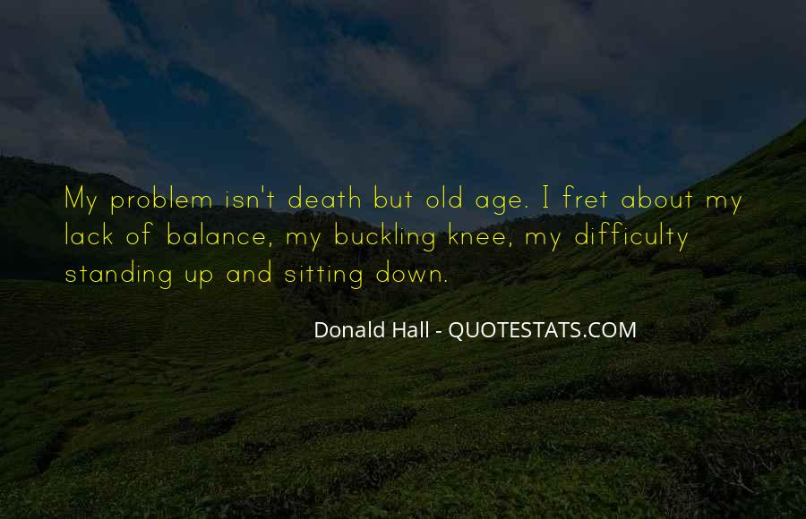 Donald Hall Quotes #223644