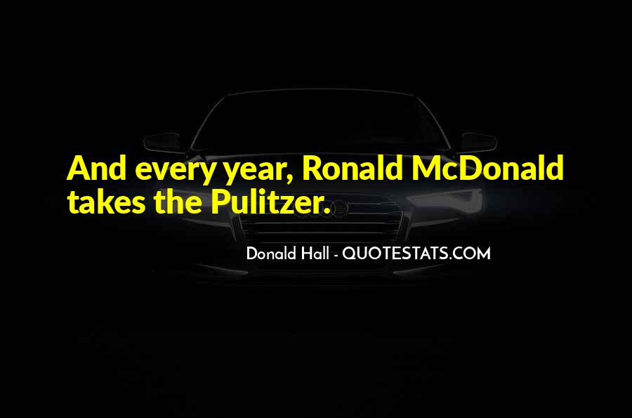 Donald Hall Quotes #33966