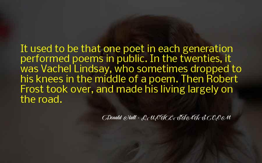 Donald Hall Quotes #34324
