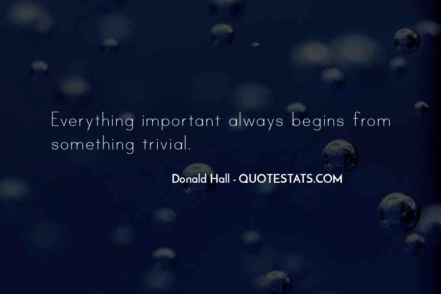 Donald Hall Quotes #364419