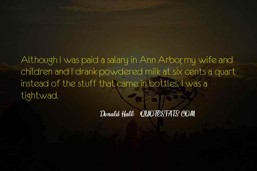 Donald Hall Quotes #414394