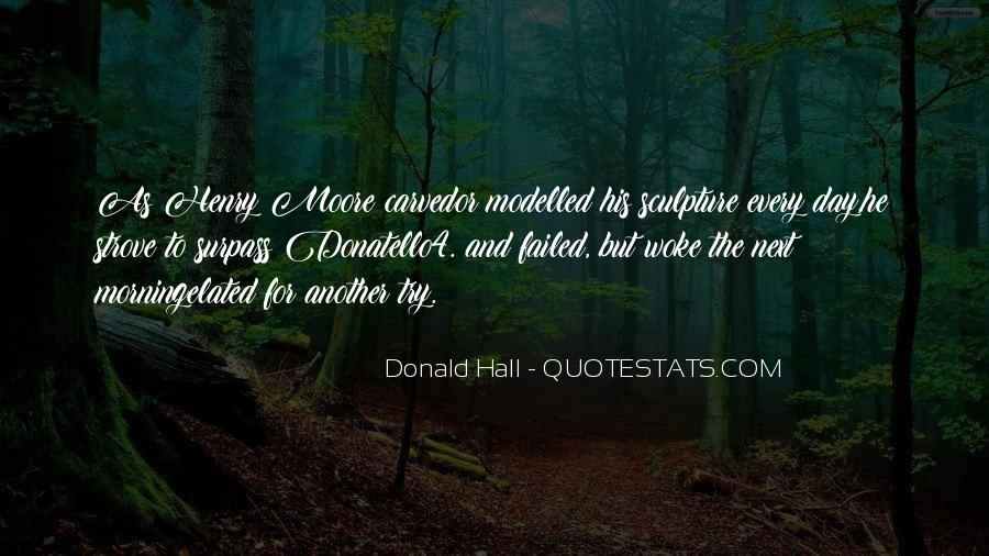 Donald Hall Quotes #532889