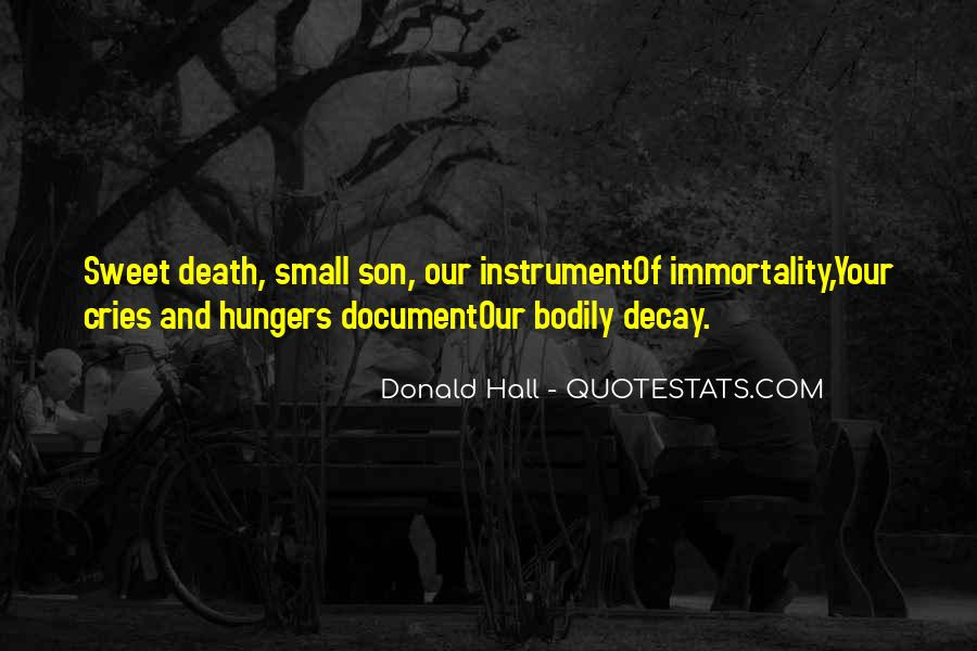 Donald Hall Quotes #715780