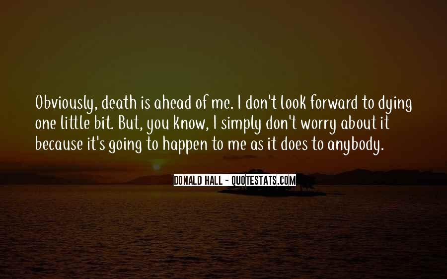 Donald Hall Quotes #721039