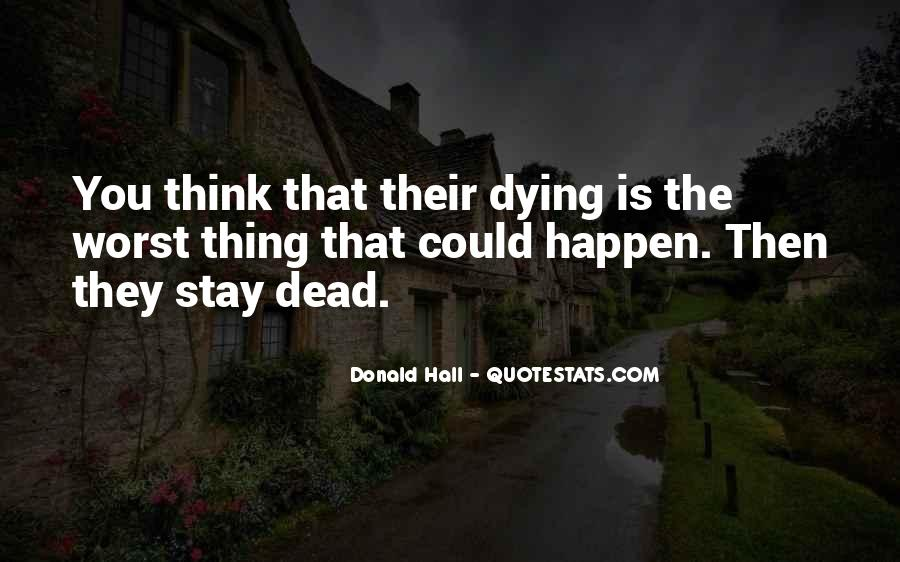 Donald Hall Quotes #81295