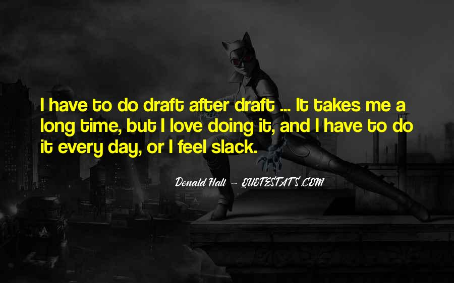 Donald Hall Quotes #941076