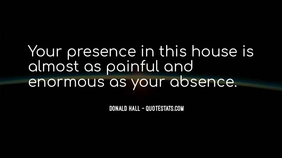 Donald Hall Quotes #997165