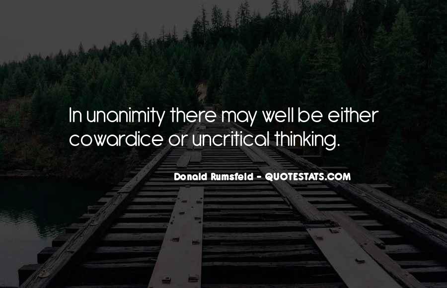 Donald Rumsfeld Quotes #1112610