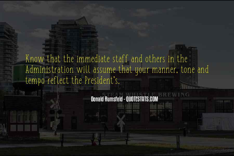 Donald Rumsfeld Quotes #1196945