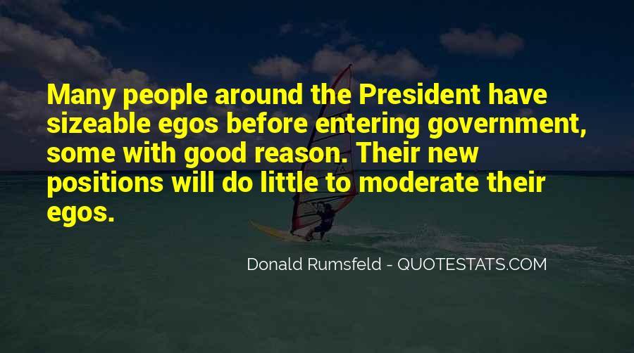 Donald Rumsfeld Quotes #1269245