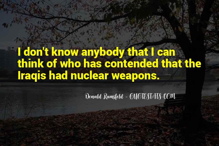 Donald Rumsfeld Quotes #1331851