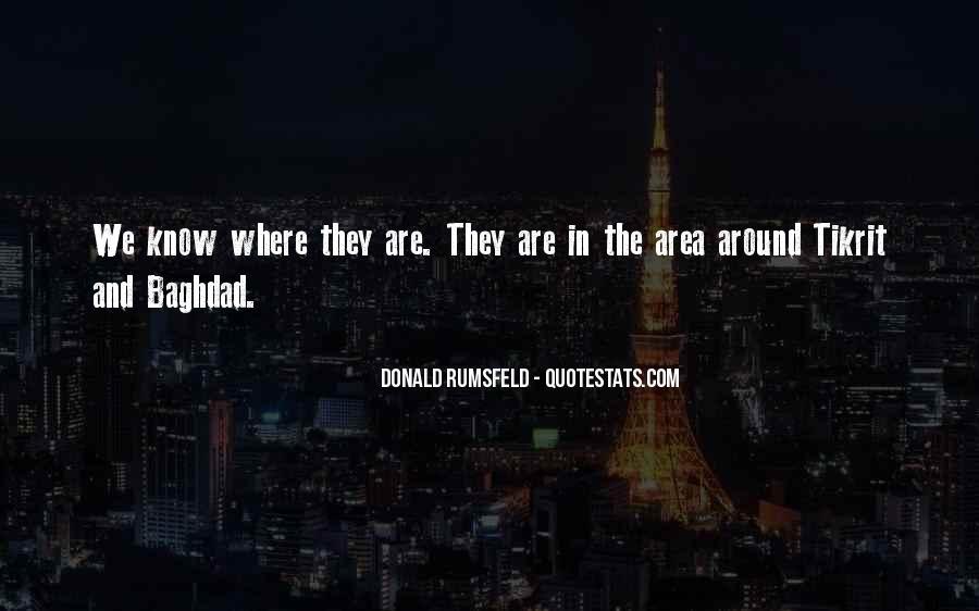 Donald Rumsfeld Quotes #133450