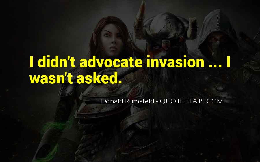 Donald Rumsfeld Quotes #1382053
