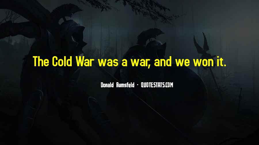 Donald Rumsfeld Quotes #1441635