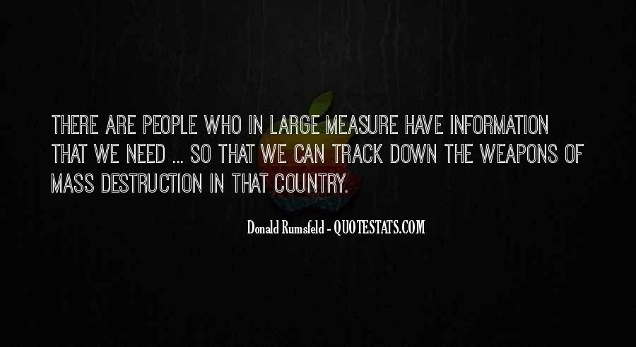Donald Rumsfeld Quotes #1446960