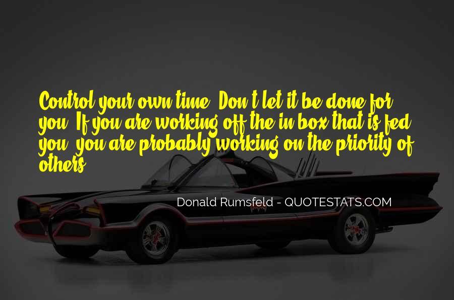 Donald Rumsfeld Quotes #1514997