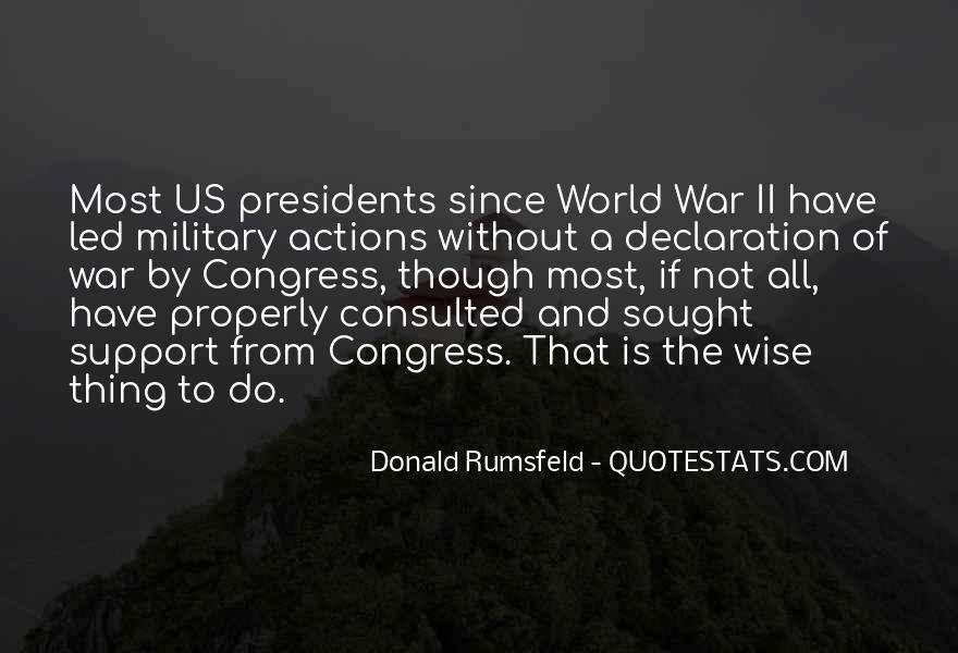 Donald Rumsfeld Quotes #1530264