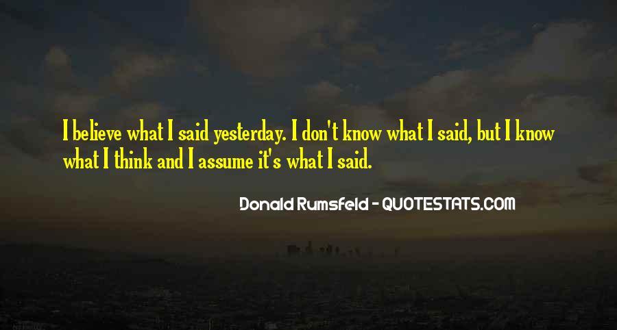 Donald Rumsfeld Quotes #1573311