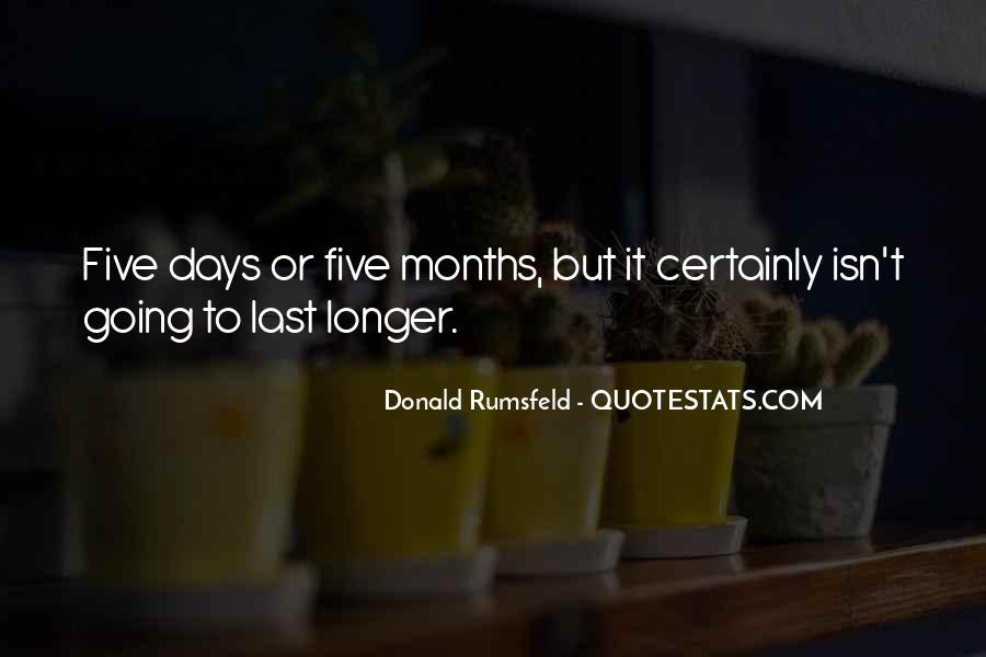 Donald Rumsfeld Quotes #1773594