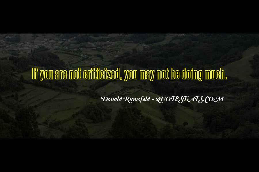 Donald Rumsfeld Quotes #203599