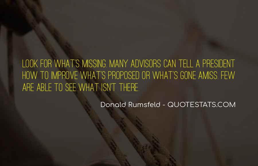 Donald Rumsfeld Quotes #441325