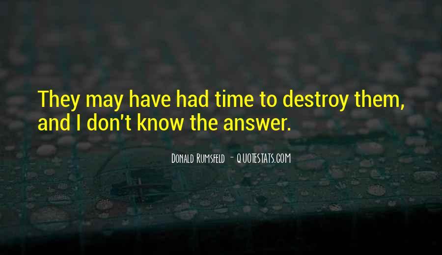 Donald Rumsfeld Quotes #502683