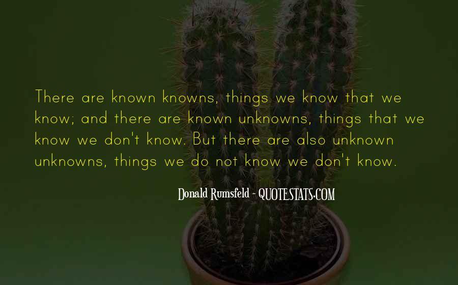 Donald Rumsfeld Quotes #547079