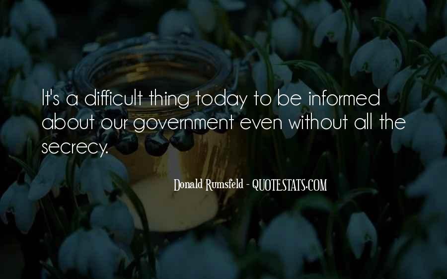 Donald Rumsfeld Quotes #596390