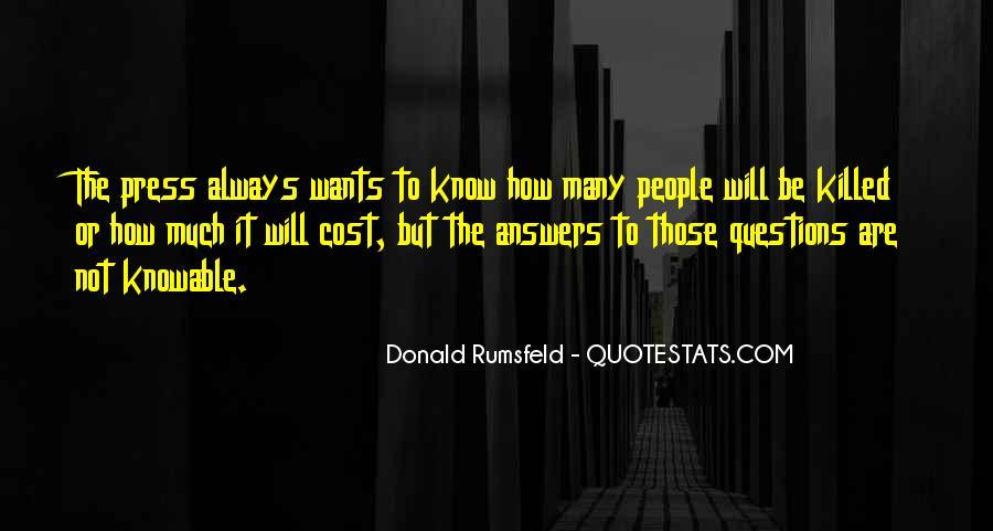 Donald Rumsfeld Quotes #640005