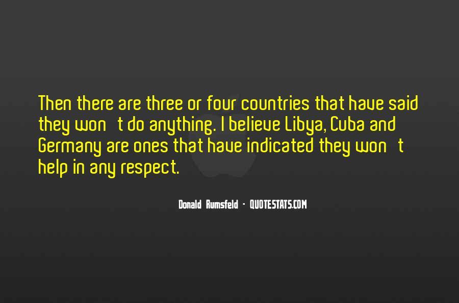 Donald Rumsfeld Quotes #670667