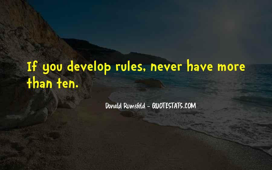 Donald Rumsfeld Quotes #686609